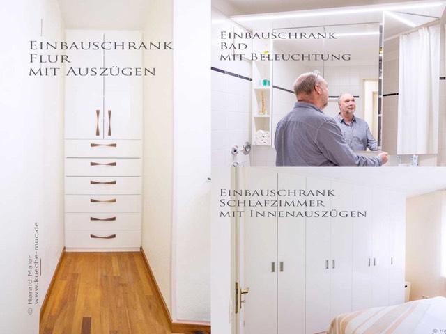 einbauschrank weiss hochglanz f r ein arbeitszimmer. Black Bedroom Furniture Sets. Home Design Ideas