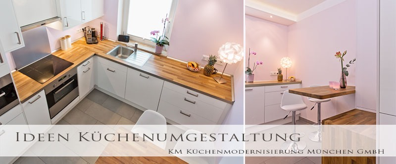 Küche renovieren - Küchenrenovierung - KM München