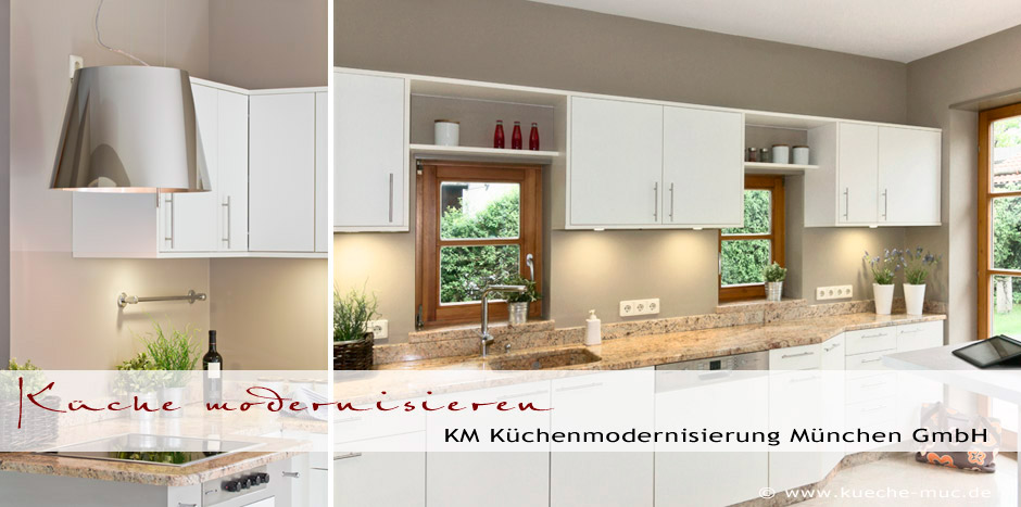 kueche modernisieren neue fronten innenauszuege dunstabzugshaube. Black Bedroom Furniture Sets. Home Design Ideas