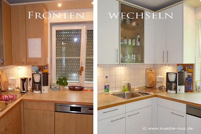 Küche Fronten erneuern - Küchenschranktüren neu