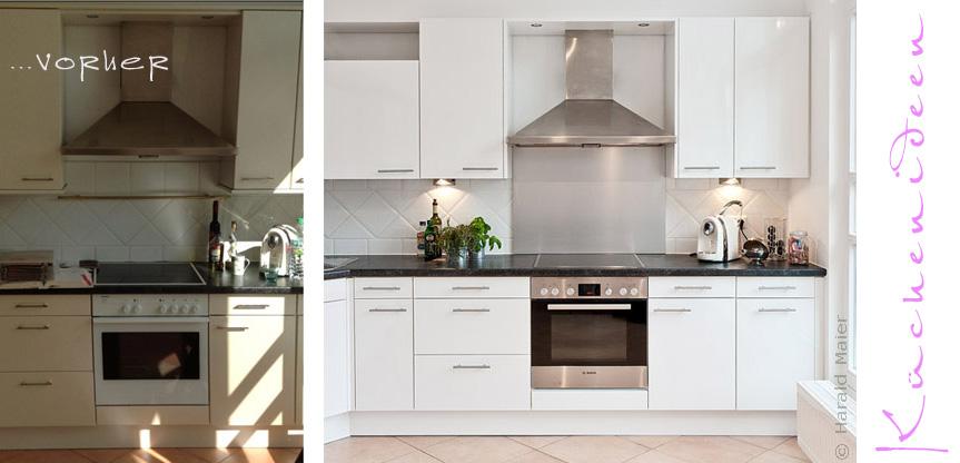 Küchenfronten wechseln Küche renovieren statt neu kaufen