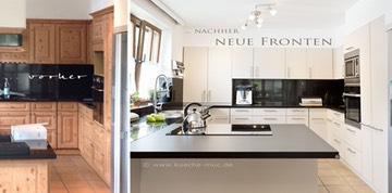 Küchenfronten erneuern - große Auswahl - mit Montage