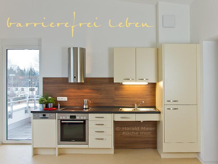 Küchenrenovierung münchen  Rollstuhlgerechte Kueche in Muenchen - wir bauen auch Ihre alte ...