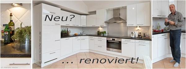 kueche renovieren edelstahlrueckwand. Black Bedroom Furniture Sets. Home Design Ideas