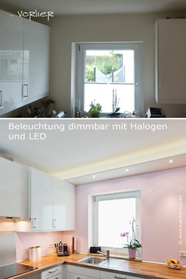 kleine k che mit essplatz und perfekter beleuchtung wandfarbe k che. Black Bedroom Furniture Sets. Home Design Ideas