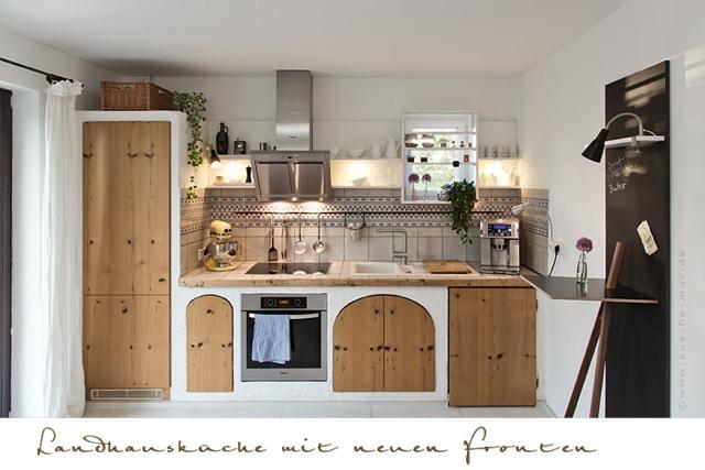 Küche Landhausstil Selber Bauen | wotzc.com