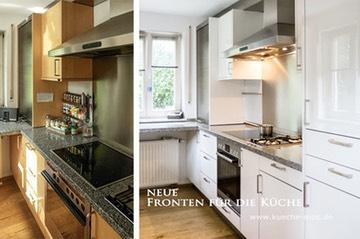 Neue Kuechenfronten für eine Bulthaup Küche